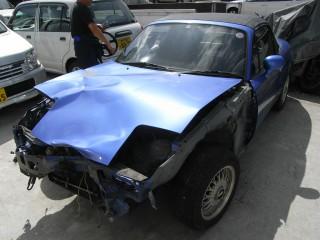 ロードスターの事故車