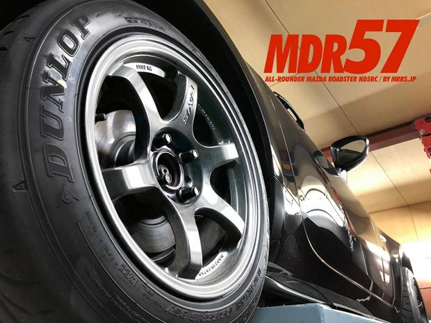 MDR57 NA/NB/ND用ALL-ROUNDER 15インチ8J+28&+35 PCD100-4H Z3 195/55R15