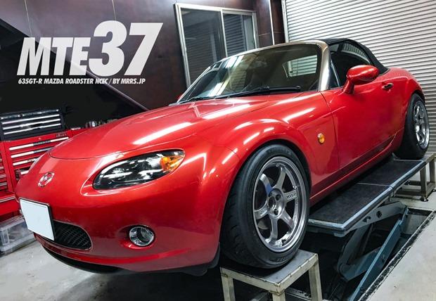 NCロードスター専用サイズMTE37 635GT-R(16インチ8.5J+35 PCD114.3-5H)Z2STAR 205/50R16